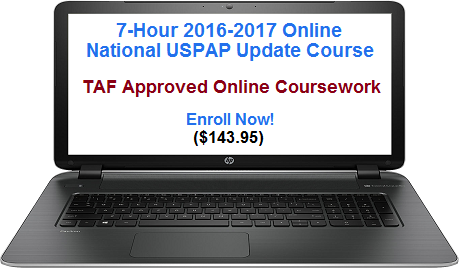 online appraisal coursework Real estate appraiser tips there are many purposes for an appraisal some of once applicants have completed the coursework specific to their.