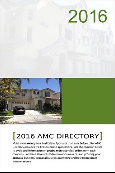 AMC Resource Guide, Appraisers, Appraiser Resources, Appraisal Management Companies
